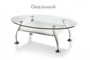 Журнальный стол овальный - Мебельная фабрика «Ardoni»