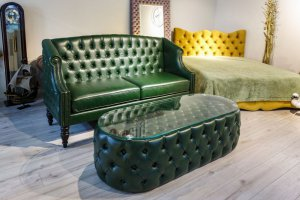 Журнальный стол-пуфик - Мебельная фабрика «ChesterStyle»