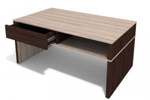 Журнальный стол с ящиком С-01 - Мебельная фабрика «Порта»