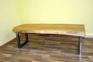 Журнальный стол Слэб 1 - Мебельная фабрика «Loft Zona»