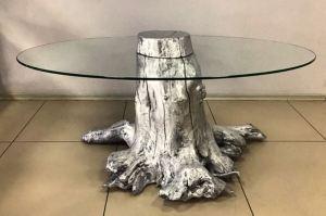 Журнальный стол со стеклом - Мебельная фабрика «Массив»