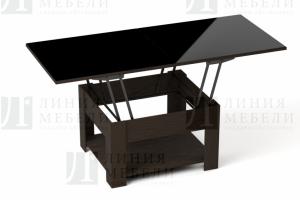 Журнальный стол-трансформер Акробат венге - Мебельная фабрика «Линия мебели»