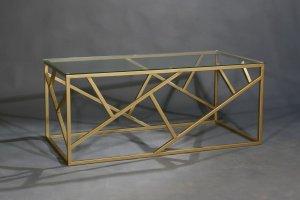 Журнальный столик 9101 золото - Мебельная фабрика «Санта Лучия»