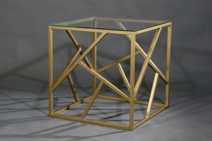 Журнальный столик 9102 золото - Мебельная фабрика «Санта Лучия»