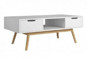 Журнальный столик Баку белый - Мебельная фабрика «FURNY»