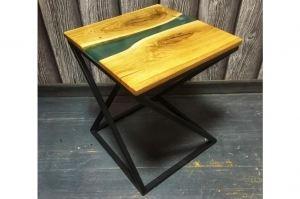 журнальный столик на металлическом основании - Мебельная фабрика «Массив»