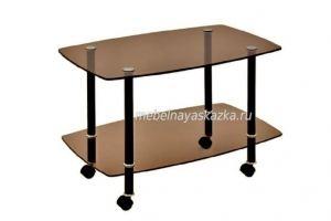 Журнальный столик Сервировочный тонированный - Мебельная фабрика «Мебельная Сказка»