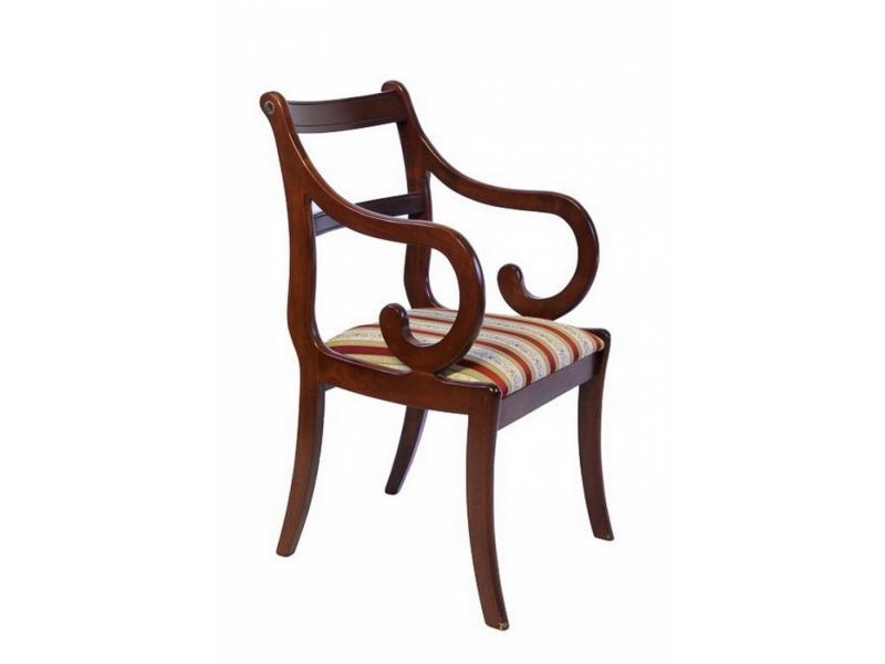 Деревянные стулья с подлокотниками