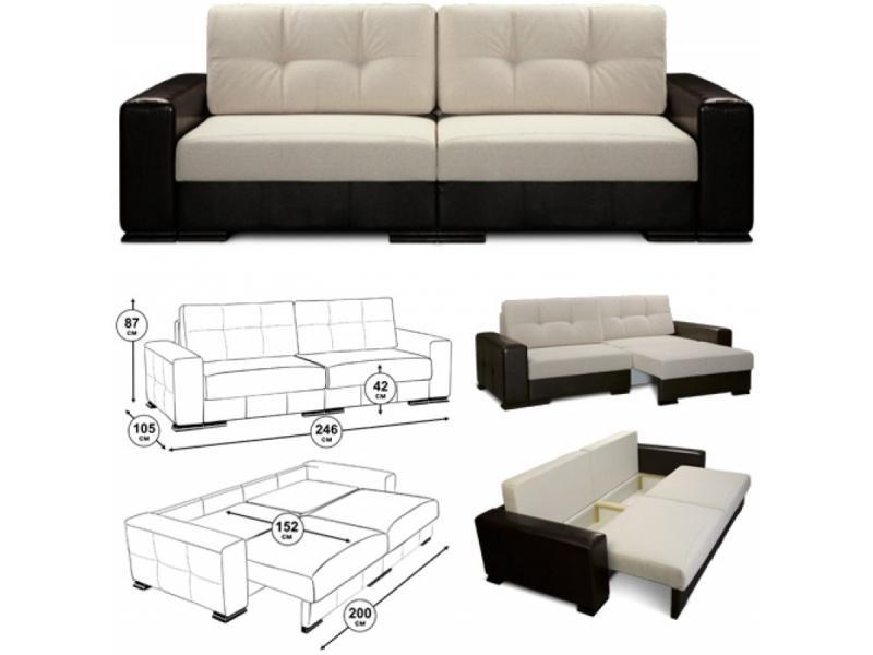 Как сделать прямой диван 734